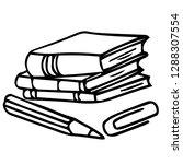 school teacher pupil board...   Shutterstock .eps vector #1288307554