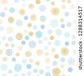 light blue  yellow vector... | Shutterstock .eps vector #1288314517