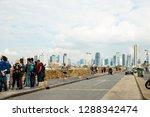tel aviv  old jaffa  israel  ... | Shutterstock . vector #1288342474
