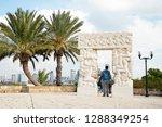 tel aviv  old yafo  israel  ... | Shutterstock . vector #1288349254