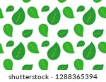 leaf pattern  ready to be... | Shutterstock .eps vector #1288365394