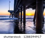sun sets over the pacific ocean ... | Shutterstock . vector #1288394917