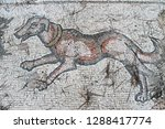 dog decorating byzantine mosaic ... | Shutterstock . vector #1288417774