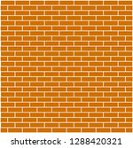 brick background brown color | Shutterstock .eps vector #1288420321