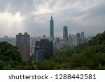 taipei city is the capital and... | Shutterstock . vector #1288442581