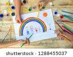 happy family concept. co... | Shutterstock . vector #1288455037