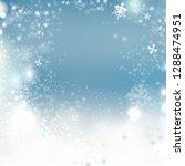 christmas background vector... | Shutterstock .eps vector #1288474951