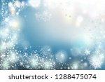 christmas background vector... | Shutterstock .eps vector #1288475074