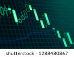 stock market or forex trading... | Shutterstock . vector #1288480867