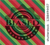 biased christmas emblem. | Shutterstock .eps vector #1288494457