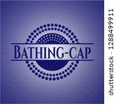 bathing cap emblem with jean... | Shutterstock .eps vector #1288499911