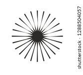 circle round shape black...   Shutterstock .eps vector #1288504057