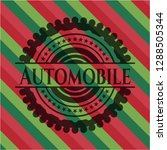 automobile christmas colors... | Shutterstock .eps vector #1288505344