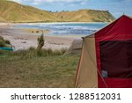 summer freedom camping  pouawa... | Shutterstock . vector #1288512031
