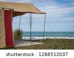 summer freedom camping  pouawa... | Shutterstock . vector #1288512037