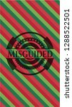 misguided christmas colors... | Shutterstock .eps vector #1288522501