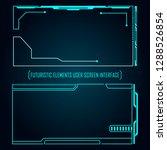 monitor user futuristic ... | Shutterstock .eps vector #1288526854