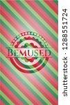 bemused christmas emblem... | Shutterstock .eps vector #1288551724
