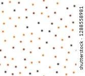 dark red vector seamless cover... | Shutterstock .eps vector #1288558981