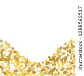 cute  pattern with leaves for... | Shutterstock .eps vector #1288563517