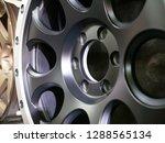 closeup magnesium alloy wheel... | Shutterstock . vector #1288565134