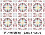 colorful mosaic seamless... | Shutterstock . vector #1288576501