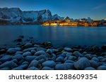 lofoten islands  norway    view ... | Shutterstock . vector #1288609354