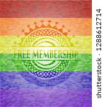 free membership on mosaic... | Shutterstock .eps vector #1288612714