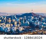 beautiful architecture building ... | Shutterstock . vector #1288618324
