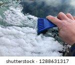 frozen snow on autocar in...   Shutterstock . vector #1288631317
