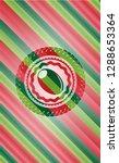 olive icon inside christmas... | Shutterstock .eps vector #1288653364