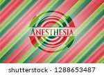 anesthesia christmas style... | Shutterstock .eps vector #1288653487