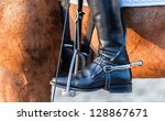 Detailed View Of A Boot Rider...