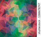 modern vector geometric...   Shutterstock .eps vector #1288678747