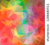 modern vector geometric...   Shutterstock .eps vector #1288680511