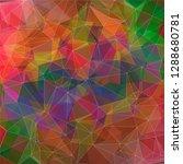 modern vector geometric...   Shutterstock .eps vector #1288680781