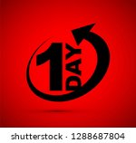one day icon   Shutterstock .eps vector #1288687804