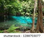 blue lake in thailand   Shutterstock . vector #1288703077