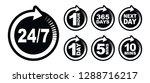 icon timer set   Shutterstock .eps vector #1288716217