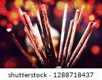 decoration objects bokeh   Shutterstock . vector #1288718437