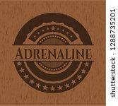 adrenaline wood emblem. retro   Shutterstock .eps vector #1288735201