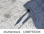 man on snow and free space for... | Shutterstock . vector #1288753234