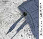 man on snow and free space for... | Shutterstock . vector #1288753237