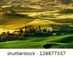 landscape in tuscany | Shutterstock . vector #128877337