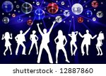 disco dancer | Shutterstock . vector #12887860