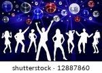 disco dancer   Shutterstock . vector #12887860