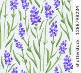flower pattern. endless... | Shutterstock .eps vector #1288798234