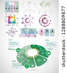 business infographic elements... | Shutterstock .eps vector #1288809877