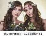 spring  summer fashion photo... | Shutterstock . vector #1288880461