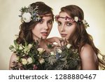 spring  summer fashion photo... | Shutterstock . vector #1288880467